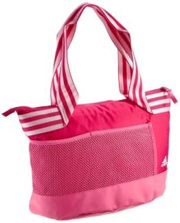 Adidas Damen Umhängetasche Climacool Training Schultertasche, Blast Pink F13/Ray Pink F13/White, 34 X 16 X 14 cm, 9 Liter, G69475 - 1