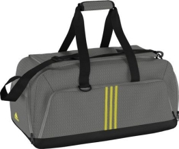 adidas PERFORMANCE 3S Teambag M, solid grey/yellow - 1