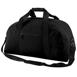 Bagbase Klassik Sporttasche Schwarz - 1