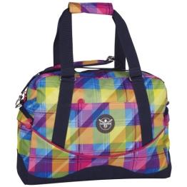 Chiemsee Sporttasche Ladies Handbag 12 Liter Mehrfarbig (Plaid Blazing) 5060042, 5060042, PLAID BLAZING, Gr. - 1
