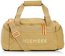 Chiemsee Sporttasche Matchbag Urban Solid, Dull Gold, 56 x 28 x 28 cm, 44 Liter, 5070207 - 1