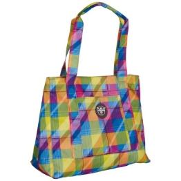 Chiemsee Sporttasche Shopper, Cooler Tasche, Universell Einsetzbar, 43.5 x 35 x 18.5 cm 15 Liter Mehrfarbig (Plaid Blazing) 5060027 - 1
