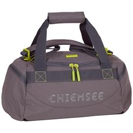 Chiemsee Unisex Sporttasche Matchbag Urban Solid, Dark Shadow, 44 x 22 x 21 cm, 16 Liter, 5070209 - 1
