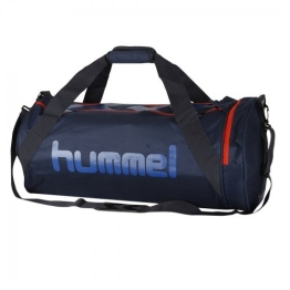 Hummel Tasche Momentum Sports Bag, Black Iris/Cherry Tomato, 66 x 28 x 36 cm, 67 Liter, 40-048-1049 - 1