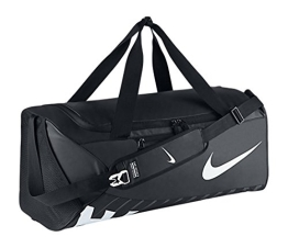 NIKE Herren Sporttasche Alpha Adapt Cross Body, Black/White, 69 x 30 x 30 cm, 62 Liter, BA5181-010 - 1