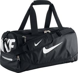Nike Herren Sporttasche Klein Team Training Max Air, 51 x 28 x 28 cm, 40 Liter, Black/White, BA4897-001 - 1