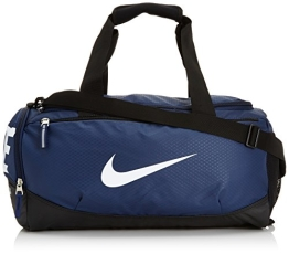 NIKE Herren Sporttasche Team Training Max Air Small, Midnight Navy/Black/White, 51 x 25 x 28 cm, 30 Liter, BA4897 - 1
