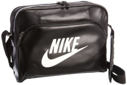 Nike Herren Tasche, schwarz, 40,5 cm x 30,5 cm x 12,5 cm, 9 Liter - 1
