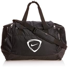 Nike Sporttasche Club Team Duffel, Black/White, 58 x 30 x 33 cm, 56 Liter, BA4871-001 - 1