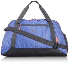 PUMA Damen Sporttasche Fit AT Sports Duffle, Ultramarine/Turbulence/Hot Coral, 47 x 32 x 19 cm, 073024 03 - 1