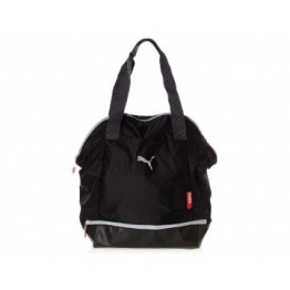 PUMA Damen Tasche Fit at Shopper, Black/Periscope/Cayenne, 37 x 39 x 13 cm, 32 Liter, 073409 01 - 1
