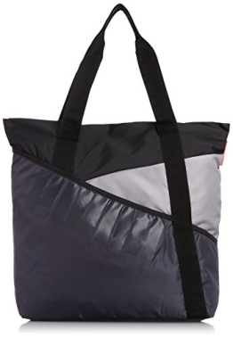 PUMA Damen Tasche Studio Shopper, Periscope/Black/Opal Gray, 52 x 31 x 1 cm, 2 Liter, 073568 01 - 1