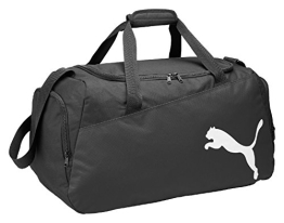 PUMA Sporttasche Pro Training Medium Bag, Black/White, 61 x 29 x 31 cm, 54 Liter, 072938 01 - 1