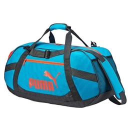 Puma Tasche Active TR Duffle Bag M 073308 atomic blue-asphalt-red blast One size - 1