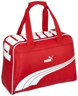 PUMA Tasche Sole Grip Bag, ribbon red-white, 44 x 31 x 20 cm, 24.5 liters, 071303 03 - 1