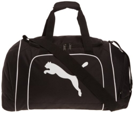PUMA Tasche Team Cat  Bag, Black/White, 61 x 31 x 29 cm, 54 Liter, 071196 01 - 1