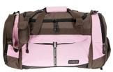 Sporttasche @VENTURE Fitness Tasche Sport Tasche PINK / BRAUN - 1