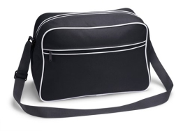 TASCHE Retro Shoulder / Polyester / 40x28x18 cm / Black / 684.29 - 1
