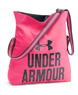 Under Armour Damen Multisport Umhängetasche Crossbody, Harmony Red, 42 x 36 x 8 cm, 11.5 Liter, 1275230 - 1
