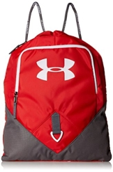 Under Armour Multisport Umhängetasche und Gepäck UA Undeniable Sackpack, Red/Gph/Wht, 48 x 39 x 6 cm, 25 Liter, 1261954 - 1